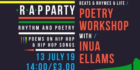 Inua Ellams R.A.P Party Workshop tickets