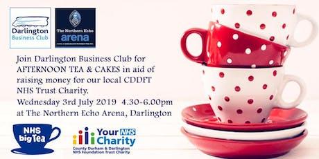 NHS Big Tea with Darlington Business Club - 3 July 2019 tickets
