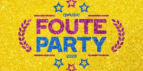De Foute Party van Qmusic 2020 tickets