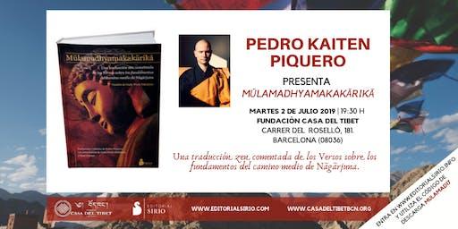 "Presentación libro ""Mulamadhyamakakarika"" en Barcelona"