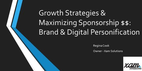 Growth Strategies through Digital Personification tickets
