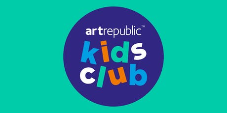 artrepublic Kids Club 20th July 2019 tickets