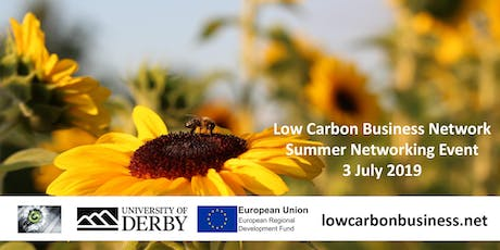 Low Carbon Business Network Quarterly Catch-up (Summer 2019) tickets