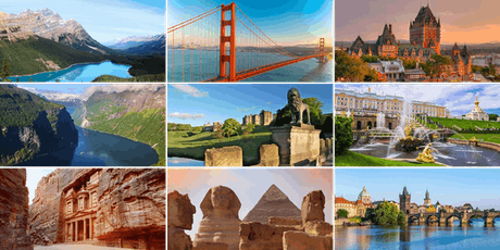 Europe, Egypt, Jordan, Canada, Alaska and the USA with Insight Vacations tickets