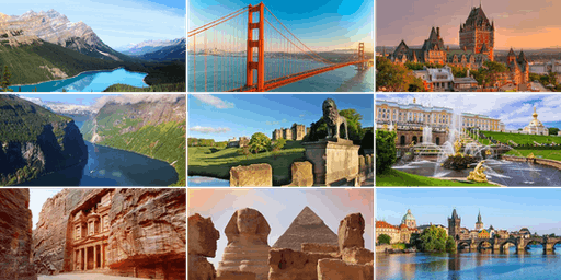 Europe, Egypt, Jordan, Canada, Alaska and the USA with Insight Vacations