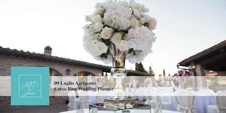 Corso Base Wedding Planner Agrigento biglietti