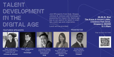 Talent Development in the Digital Age tickets