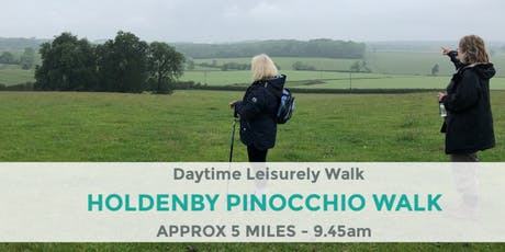 HOLDENBY & EAST HADDON PINOCCHIO WALK | NORTHANTS WALK | 5 MILES tickets