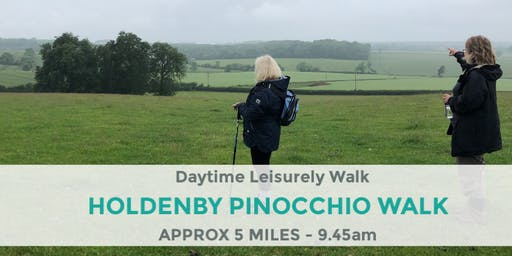 HOLDENBY & EAST HADDON PINOCCHIO WALK | NORTHANTS WALK | 5 MILES