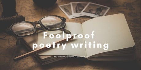 Classes with Glasses: Foolproof Poetry Writing - BYO Drinks tickets