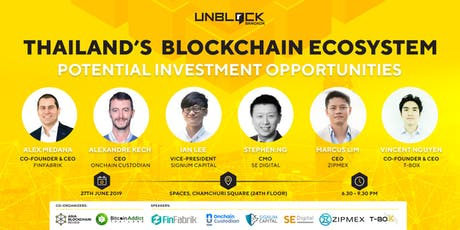 Unblock Bangkok - Thailand's Blockchain Ecosystem: Potential Investment Opportunities tickets