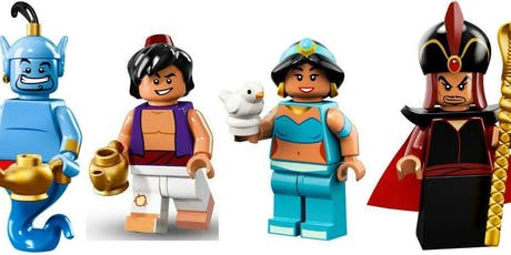 Master Builders Club Children's LEGO® Workshop - Aladdin's Adventure tickets