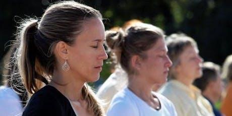 International Day of Yoga - Free meditation class tickets