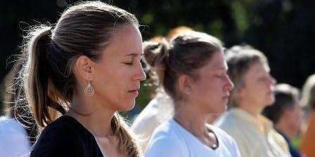International Day of Yoga - Free meditation class