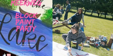 Schilder workshop beginners - Spring in 't meer - Jump in the lake tickets