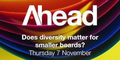 Does diversity matter for smaller boards?