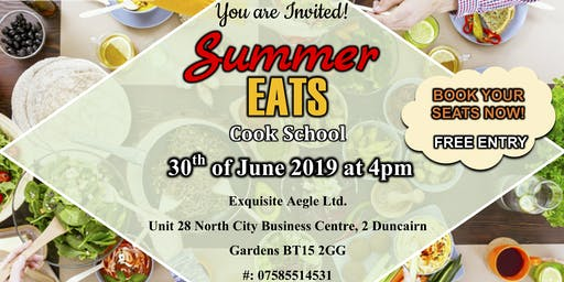 Summer Eats Cook School!