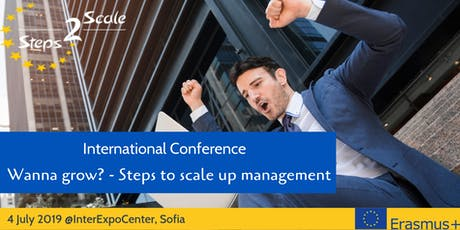 International Conference 'Wanna grow? - Steps to scale up management' tickets