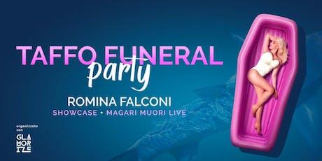 Taffo Live Romina Falconi for Glamorize + Chiringuito Libre biglietti