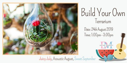 Build Your Own Terrarium (Calling for Ladies)
