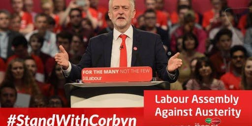 Greenwich Stands With Corbyn - Unite to End Tory Austerity