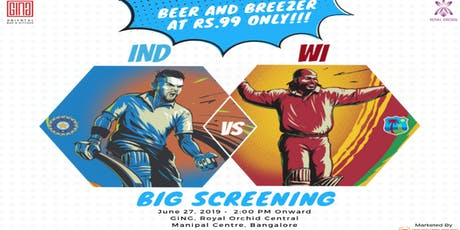 Bleed Blue - India Vs West Indies  tickets