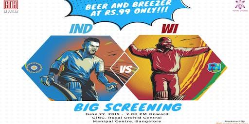 Bleed Blue - India Vs West Indies