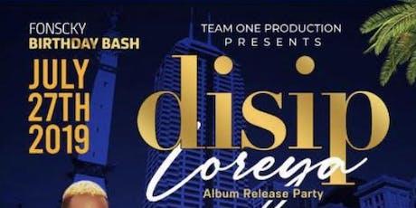 Disip album release party  tickets