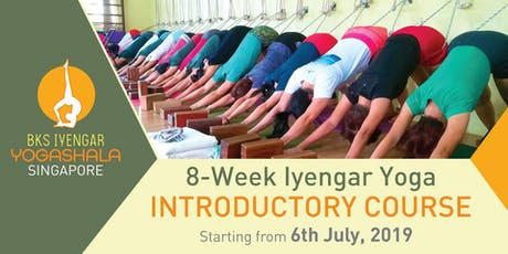 8-Week Iyengar Yoga Introductory Course (starting on 6th July) tickets