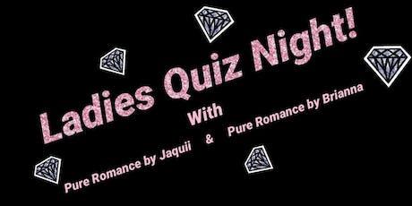 Ladies Quiz Night tickets