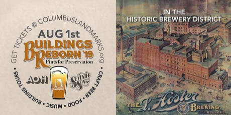 Buildings Reborn '19 at Hoster Brewery tickets