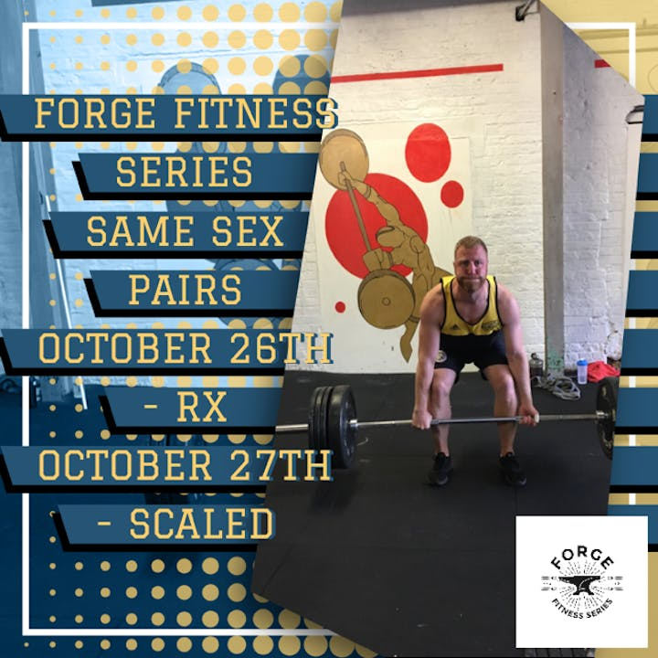 FORGE FITNESS SERIES Same Sex Pairs Competition Tickets, Sat