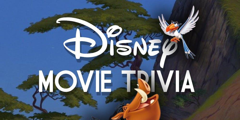 Disney (Movie) Trivia Tickets, Wed, Aug 28, 2019 at 8:00 PM | Eventbrite