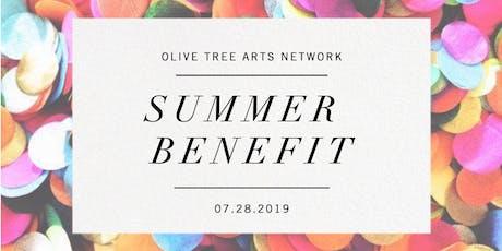 Olive Tree Arts Network Summer Benefit tickets