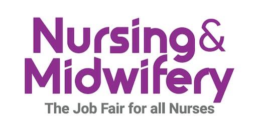 Nursing & Midwifery Job Fair - London, March 2020