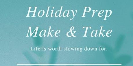 School Holiday Essentials Make and Take Workshop tickets