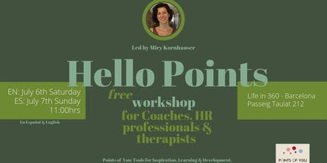 Hello Points |FREE Workshop for HR professionals, coaches & therapists|Español-English entradas