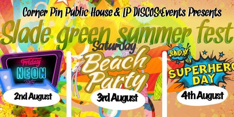 Slade Green Summer Fest 2019 tickets