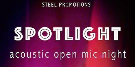 Spot Light Acoustic Open Mic Night  tickets