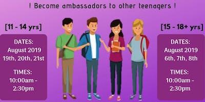 Teen Summer Scheme(11 - 14 yrs)
