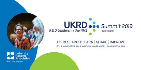 UKRD Summit 2019 - Registration tickets