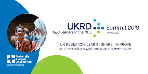 UKRD Summit 2019 - Registration