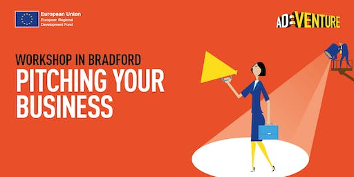 Adventure Business Workshop in Bradford - Pitching your Business