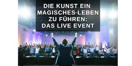 DIE KUNST EIN MAGISCHES LEBEN ZU FÜHREN Tickets