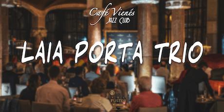 Música Jazz en directo: LAIA PORTA TRIO entradas