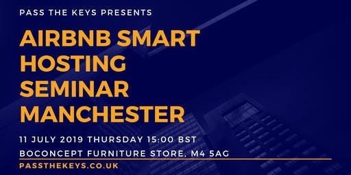 Airbnb Smart Hosting Seminar - Manchester