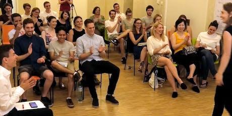 Lachen - Weinen - Nachdenken | Great Speeches tickets