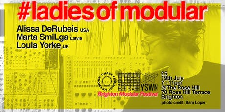 #ladiesofmodular LIVE! tickets