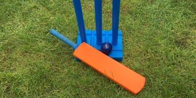 Cricket in Deptford Park for U8s
