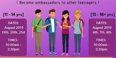 Teen Summer Scheme(15 - 18+ yrs)